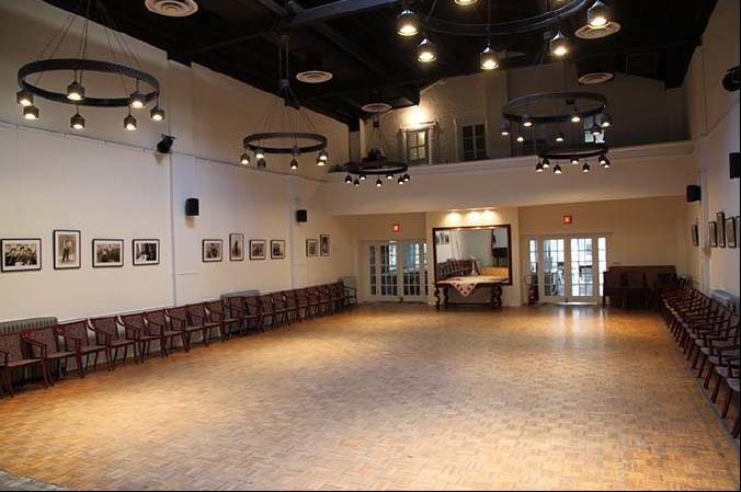 Main Hall - capacity 180, seated 130