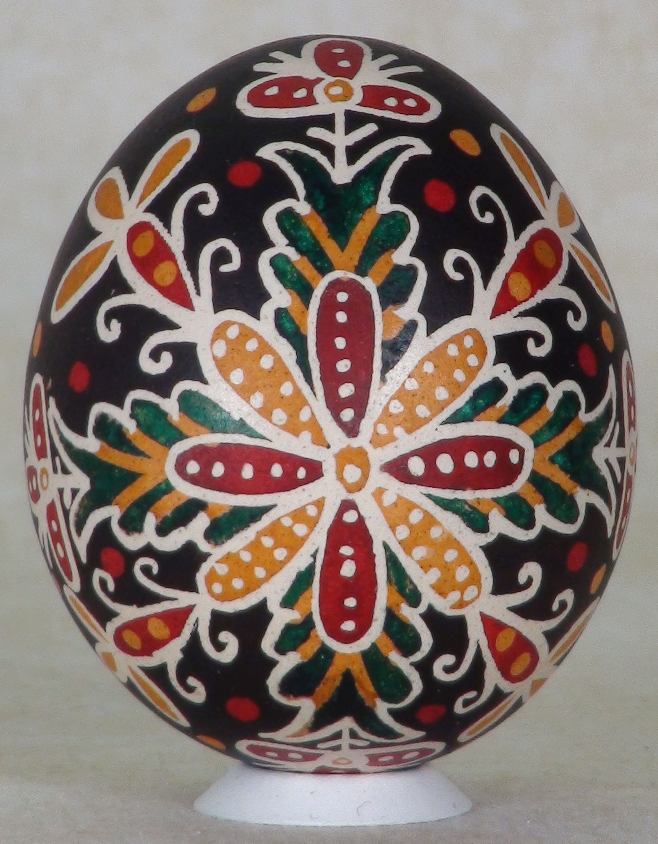 Decorated Easter Eggs Hungarian House